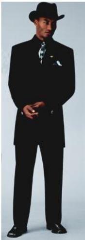 Men's Sharp Black Fashion Zoot Suit $139