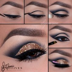 how-to-apply-eyeliner-to-accentuate-your-eyes - More Beautiful Me 1 Makeup Eye Looks, Eye Makeup Steps, Eye Makeup Art, Eyeshadow Makeup, Makeup Tips, Beauty Makeup, Eyeshadows, Matte Eyeshadow, Pink Eyeshadow Palette