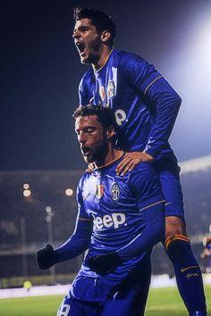 Morata and Marchisio - Juventus