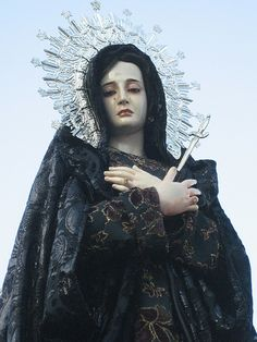 Oh my.  No words to describe how beautiful this is.  Mater Dolorosa - Our Lady of Sorrows