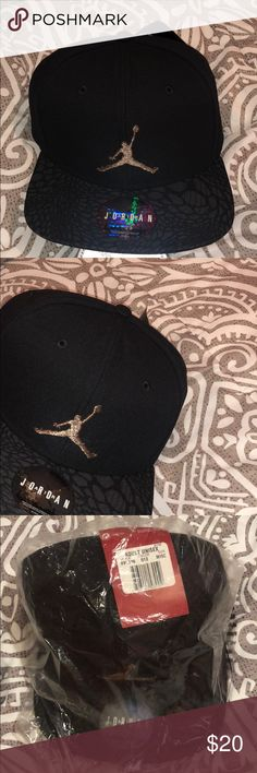 e145b9bf25c Brand new Jordan hat Black Jordan hat. Official Jordan headwear. Never been  worn.