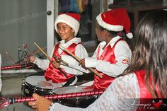 Gaven along with Isla Bonita Elementary Marching Band led the Love FM's 3rd Annual Holiday Parade.