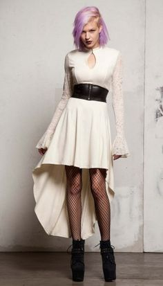 The Mortal Instruments Isabelle Ivory Dress designed by TRIPP nyc