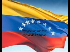 """Este es el himno nacional de Venezuela. Se llama """"Gloria al Bravo Pueblo"""" y Venezuela le adoptó en el veinte y cinco de Mayo de mil ochocientos ochenta y uno. Las letras fueron escribidas por o Vicente Sailas o Andres Bello y la música fue componido por Juan José Landaeta."""