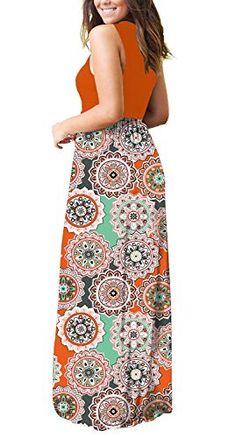 MOLERANI-Womens-Loose-Plain-Maxi-Dresses-Casual-Long-Dresses-with-Pockets Long Dresses, Maxi Dresses, Casual Dresses, Casual Outfits, Summer Outfits, Maternity Maxi, Pregnancy Outfits, Floral Maxi Dress, Printed Skirts