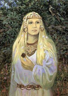 Lada- slavic goddess