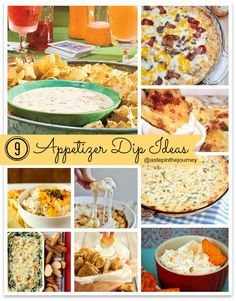 Need an appetizer idea for your next party? Amazing DIP recipe roundup! @Wendy Felts Felts Felts Werley-Williams.a...