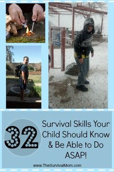 Survival Tips Your Kids Need to Know