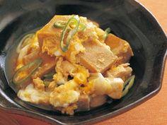 [高野豆腐の卵とじ] 料理レシピ|みんなのきょうの料理