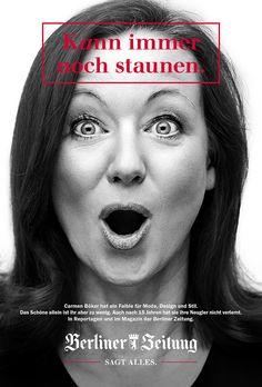 Berliner Zeitung: Markenkampagne Charakterköpfe #Advertising