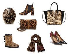 leopard.doplňky by j-liebichova on Polyvore featuring Salvatore Ferragamo, Topshop, UGG Australia, Valentino, Patricia Nash and Diane Von Furstenberg