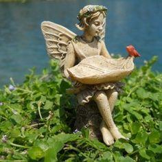 Add a fairy to your mini garden!