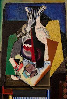 lilithsplace: 'Still life with matchbox', 1915 - María Gutierrez Blanchard Be Still, Still Life, Herbert List, August Macke, Beach Games, Cubism Art, Love Art, Colored Pencils, Oil On Canvas