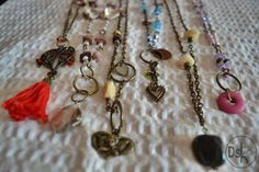 Collares Dassha bijou...colores y armonía para este Otoño! www.dassha.com.ar
