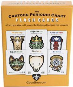 The Cartoon Periodic Chart Flash Cards Magazines For Kids, Creative Kids, Chart, Cartoon, Fun, Products, Children's Magazines, Cartoons, Comic