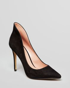 Enzo Angiolini Pointed Toe Hooded Pumps - Fayson | Bloomingdale's