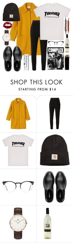 """""""STREET"""" by savannahrstyle ❤ liked on Polyvore featuring Toast, Étoile Isabel Marant, Carhartt, Spitfire, Miu Miu, Daniel Wellington, StreetStyle, stylish, matching and StreetChic"""