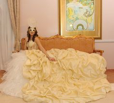 Loula's Masquerade Ball Gown