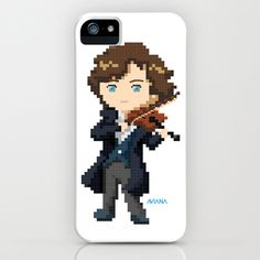 Sherlock - The Violinist iPhone & iPod Case by Aviana - $35.00
