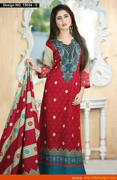 Naveed Nawaz Textile Designs of Winter Wear 2014