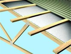 radiant barrier insulation in roof