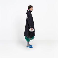 Balenciaga Opera Rain Coat | Black | Women's Coats #best #coat #spring #raincoat #fashion #shopping
