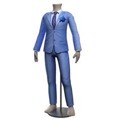 Cole Minimalist Grooms Suit - Serenity