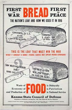Infographics aren't a completely new idea. This inforgraphic is an American war propaganda poster from World War II explaining the national consumpti