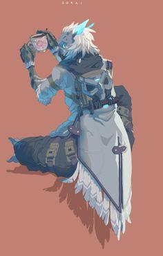 Digital Scribble Dumpyard Character Inspiration, Character Art, Character Design, Overwatch Skin Concepts, Overwatch Fan Art, Paladins Overwatch, Level Design, Overwatch Community, Heroes Of The Storm