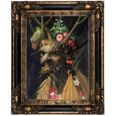 """Historic Art Gallery 'Four Seasons' Framed Oil Painting Print on Canvas Format: Peru Framed, Size: 21.25"""" H x 17.25"""" W x 1.5"""" D"""
