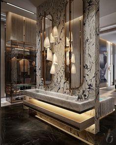 Washroom Design, Toilet Design, Bathroom Interior Design, Laundry In Bathroom, Master Bathroom, Modern Bathroom, Instagram, House, Home Decor