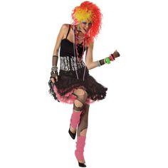 80's Party Girl Women's Costume