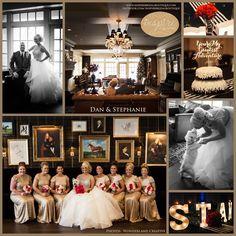 Inspire Bridal Boutique real bride Staphanie & her hubby Dan the dress: Jim Hjelm  Bridesmaids: Sorella Vita Inspire Bridal Boutique St. Peter, MN 507-514-2224 inspirebridalboutique.com inspirebridalboutique@gmail.com