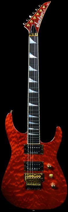 Wild West Guitars : Jackson Custom Select Soloist SL2H Electric Root Beer Transparent