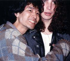 Early Soundgarden - Hiro and Chris.