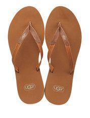 Bruine Ugg schoenen Magnolia slippers