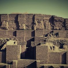 Chogha Zanbil is an ancient Elamite complex in the Khuzestan province of Iran. It is one of the few existent ziggurats outside of Mesopotamia. It lies approximately 42 km south-southeast of Dezful, 30 km south-east of Susa and 80 km north of Ahvaz
