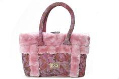 Pink UGG Sundance Grab Flower Bag