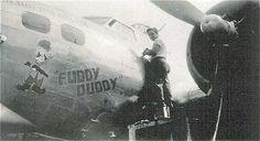 """B-17G-45-BO 42-97400 """"Fuddy Duddy"""""""