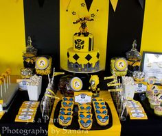 Bumblebee Birthday Party | CatchMyParty.com