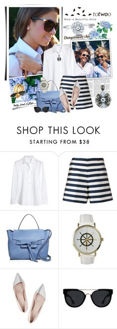 """""""Totwoo smart jewelry - My friend's style"""" by violetta-valery ❤ liked on Polyvore featuring Yves Saint Laurent, Moncler, Annabel Ingall, Olivia Pratt, Giambattista Valli, Quay and totwoo"""