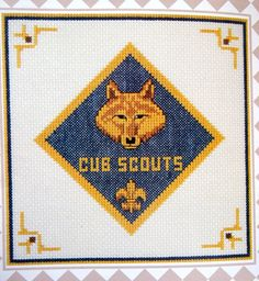 Emblems Of The Boy Scouts Of America By The Vanessa by NeedANeedle