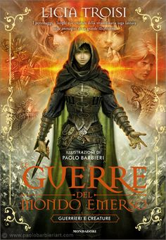 """""""Guerre -del- Dondo Emerso [Guerrieri E Creature]"""" by Paolo Barbieri Book Cover Art, Book Cover Design, Fantasy Characters, Female Characters, New Books, Books To Read, Iron Fey, Character Art, Character Design"""
