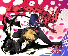Miraculous Ladybug and Chat Noir em ação
