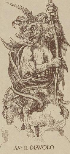 Альбом Tarocchi Durer — Таро Дюрера | Энциклопедия карт Таро и оракулов Rozamira