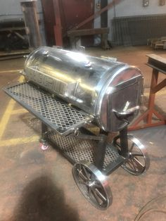 Bbq Grill Diy, Barbeque Design, Grill Design, Bbq Pit Smoker, Diy Smoker, Homemade Smoker, Metal Projects, Welding Projects, Bar B Que Pits