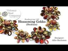 Blossoming Gekko Necklace (Tutorial) - YouTube