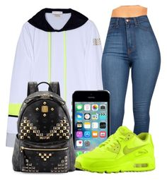 """""""Untitled #34"""" by high-off-life ❤ liked on Polyvore featuring Monreal, MCM and NIKE"""