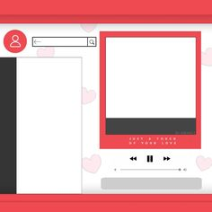 ID Templates Orange Things orange k strain Polaroid Template, Frame Template, Instagram Frame, Instagram Blog, Graphic Design Posters, Graphic Design Illustration, Instagram Profile Template, Youtube Editing, Cute Lockscreens
