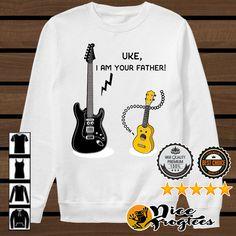 0c1ca58f Ukulele and guitar Uke I am your father shirt